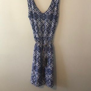 AZTEC BOHO FRINGE kaleidoscope hippie dress